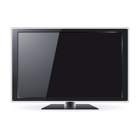 LCD TV Set Stock Vector - 7388944