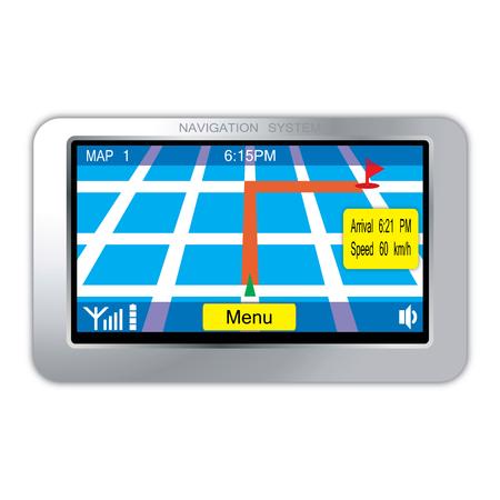 navigation system device Vector