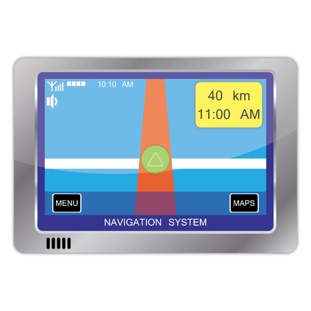 electronic guide: navigation system device