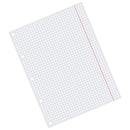 sheet of paper Stock Vector - 7460708