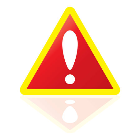 warning sign  Stock Vector - 7481408