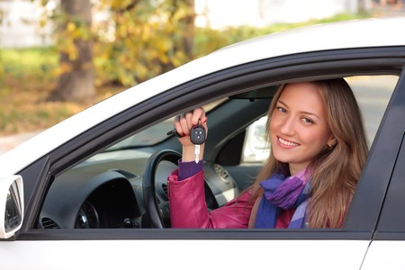 Happy owner of a new car. Stock Photo - 8030332