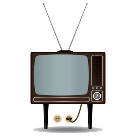 old tv: Old TV Set