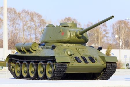 seconda guerra mondiale: Modello di carro armato sovietico T-34