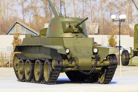 Soviet tank  photo
