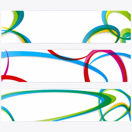 Abstract banners with space for your text Stock Vector - 9651073