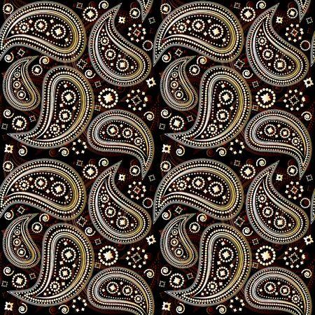 magnificence: Paisley Seamless Pattern
