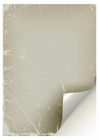 Grunge vintage old paper  Vector