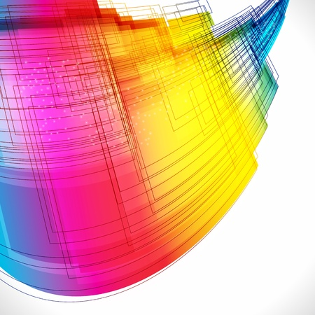 Colorful abstract background Stock Vector - 10283964