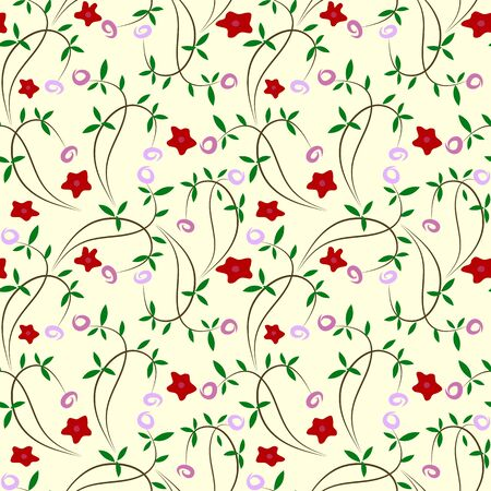 Seamless floral background Stock Photo - 10343715