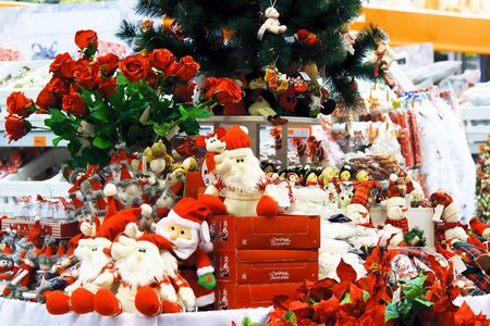 Christmas toys in the store Stock Photo - 11186582