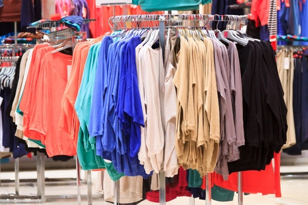 clothing store  Stock Photo - 12489041