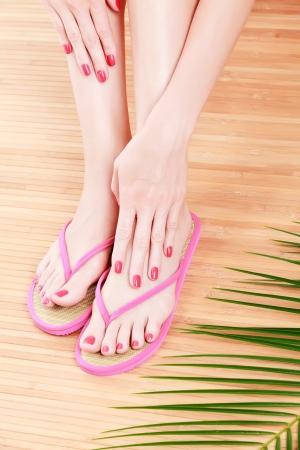 Female feet photo