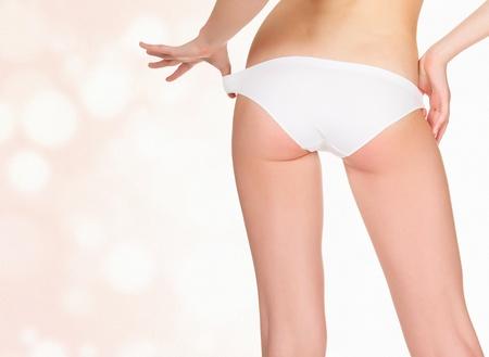 Slim female backside photo