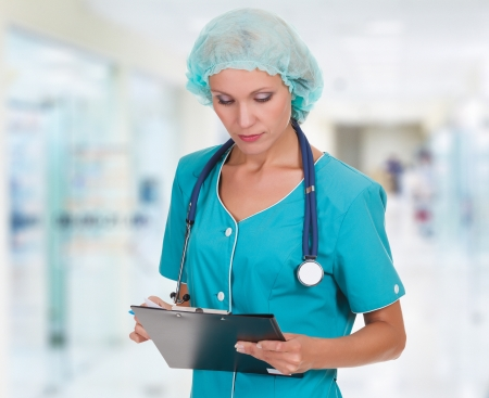Medical doctor woman in the office Stock Photo - 15042173