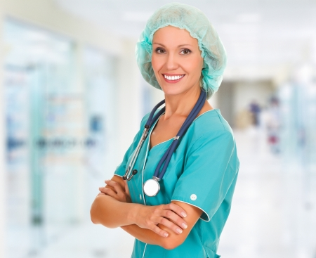 Medical doctor woman in the office  Stock Photo - 15042172