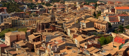 small country town: Cardona town, Spain