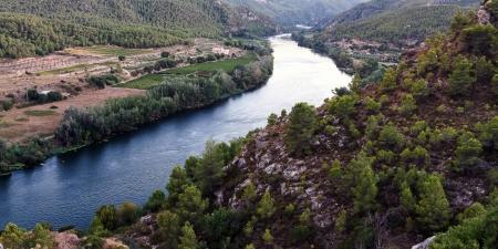 ebro: Fiume Ebro in Spagna