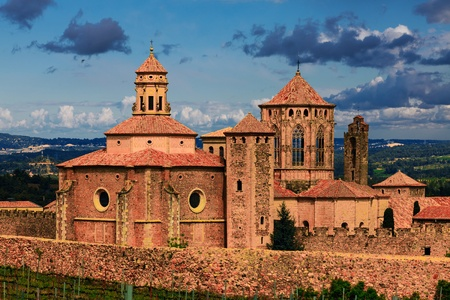 monastery Santa Maria de Poblet, Spain photo