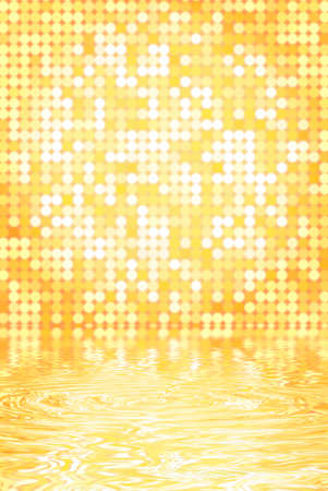 light circular: Abstract background Stock Photo
