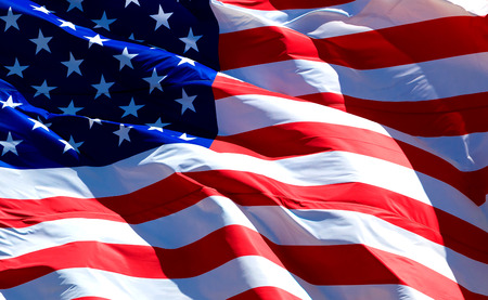 stars and stripes background: Flag of the USA