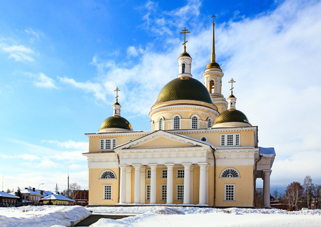 The Old Believers church in Nevyansk, Russia