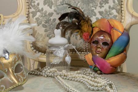 Preparing for a carnival rococo