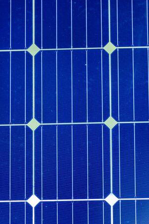 Solar cells on a solar panel for solar energy