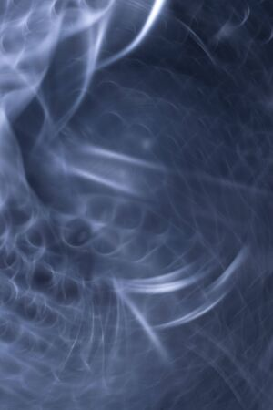 hyperspace: abstract background, blue toned, hyperspace tunnel theme Stock Photo