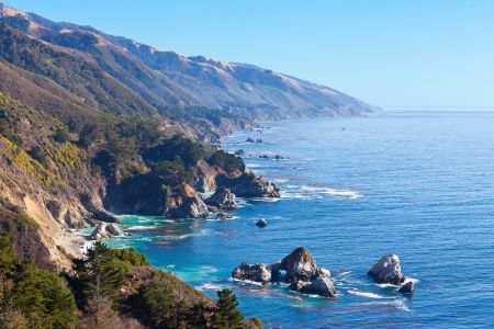 sur: magnificent ocean view at the big sur