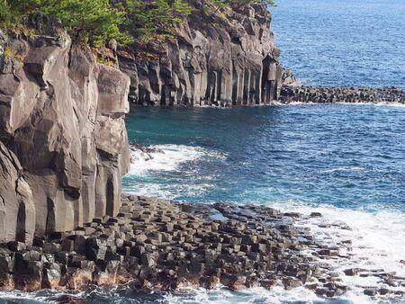 The coast of the columnar sorority Banco de Imagens