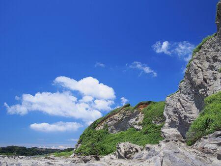 eroded rocky mountain