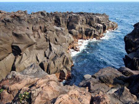 Jogasaki Coast Igagane Banco de Imagens
