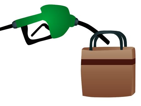 filling: a petrol pump filling Bosa Purchase