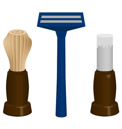 hombre: shaving items