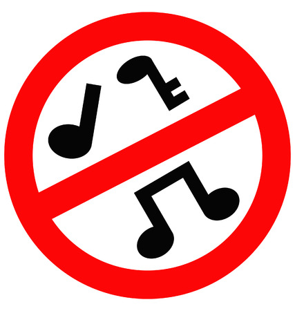 banned music Illustration