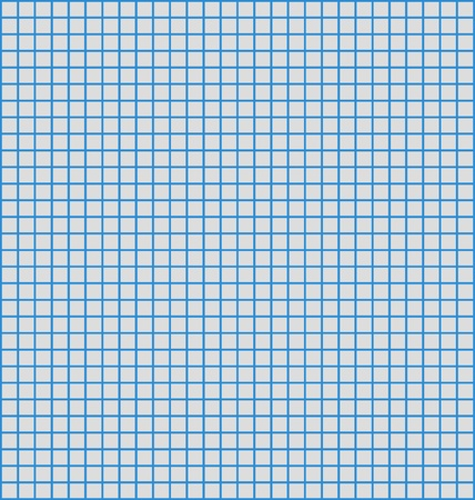 Details of a grid or matrix of blue horizontal and vertical lines, often used to plot graphs. Vector