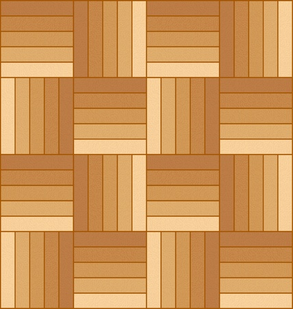 Vector illustration of a wooden parquet floor pattern.
