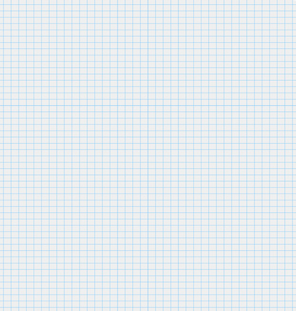 illustration texture white sheet of paper with blue squares