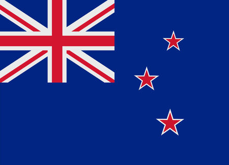 bandera de nueva zelanda: Bandera de Nueva Zelanda ilustración vectorial