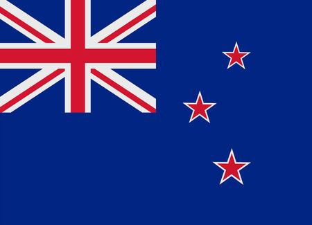 flag vector: Flag of New Zealand vector illustration