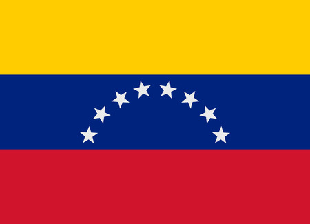 Flag of Venezuela vector illustration Vector