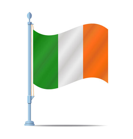 Flag of Ireland vector illustration Vector