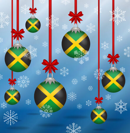 ilustration christmas background flags jamaica royalty free cliparts vectors and stock illustration image 34566173
