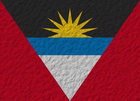 antigua and barbuda: Flag of Antigua and Barbuda vector illustration