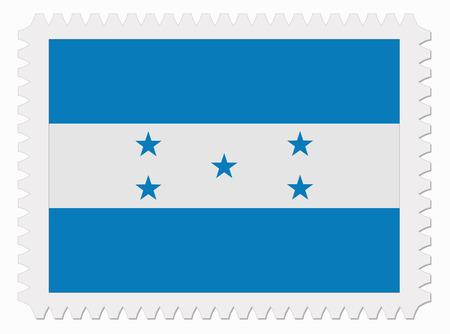 bandera de honduras: ilustraci�n Honduras sello de bandera