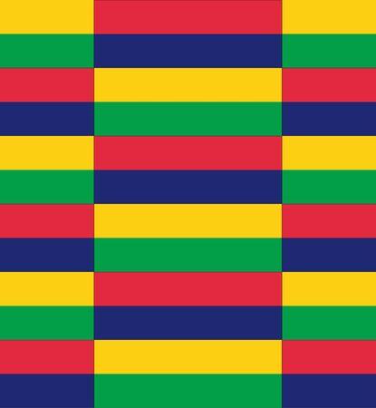 mauritius: Flag Mauritius texture vector illustration