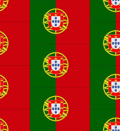 bandera de portugal: Bandera de Portugal ilustraci�n textura vector