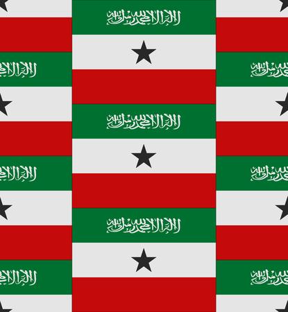 somaliland: Flag Somaliland texture vector illustration