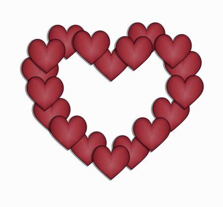 bordering: desig bordeando corazones coraz�n
